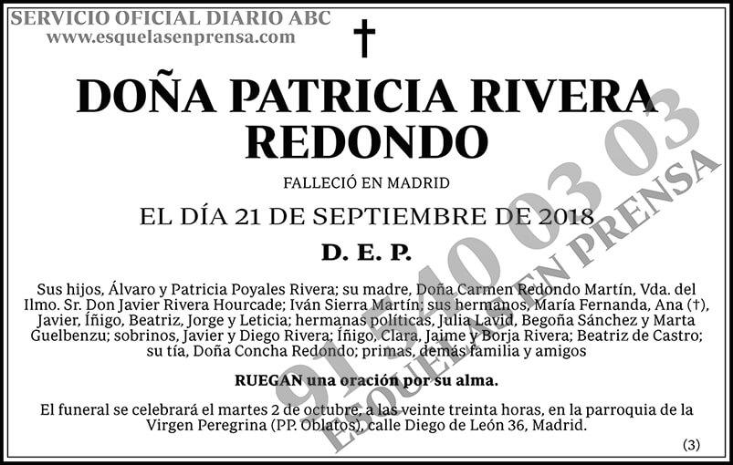 Patricia Rivera Redondo
